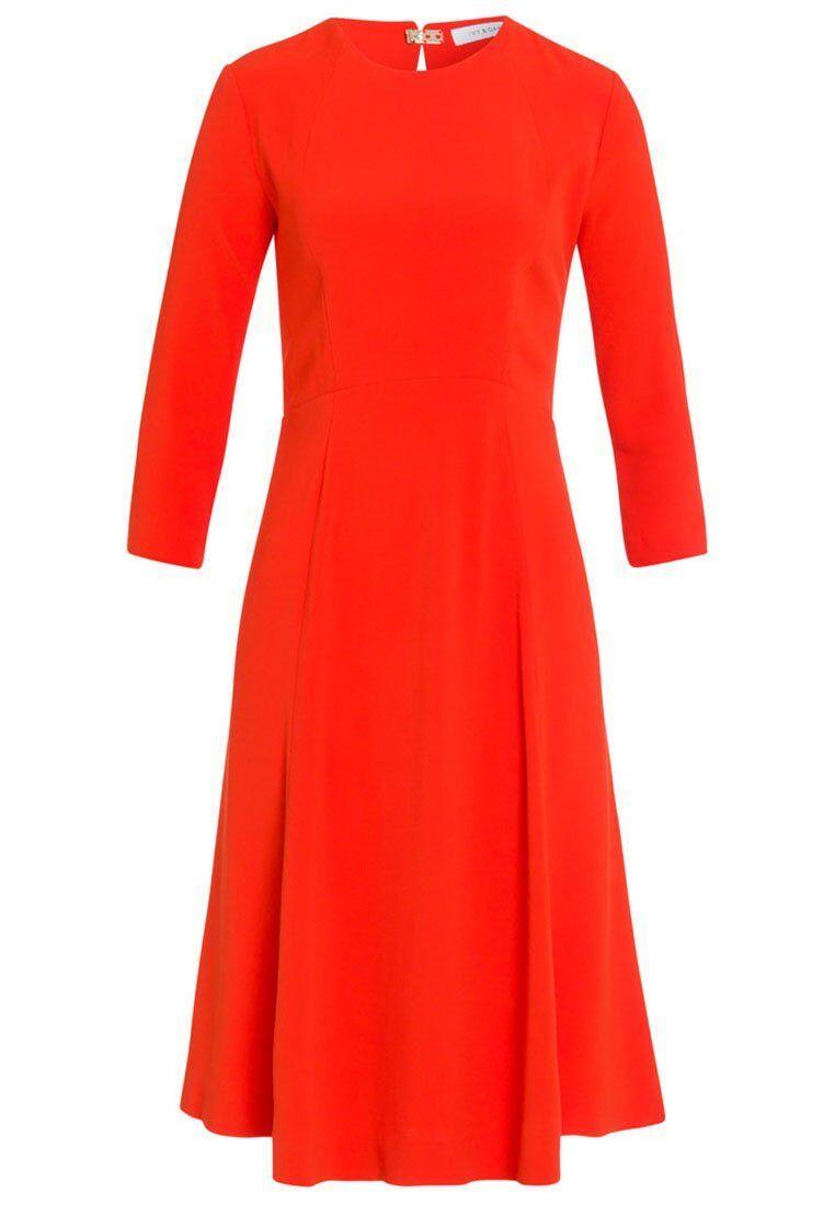 569d9142d6cb Ivy   Oak per il tempo libero libero libero abito donna vestito abito Blood  arancia tg. 42 a4323 7455f0