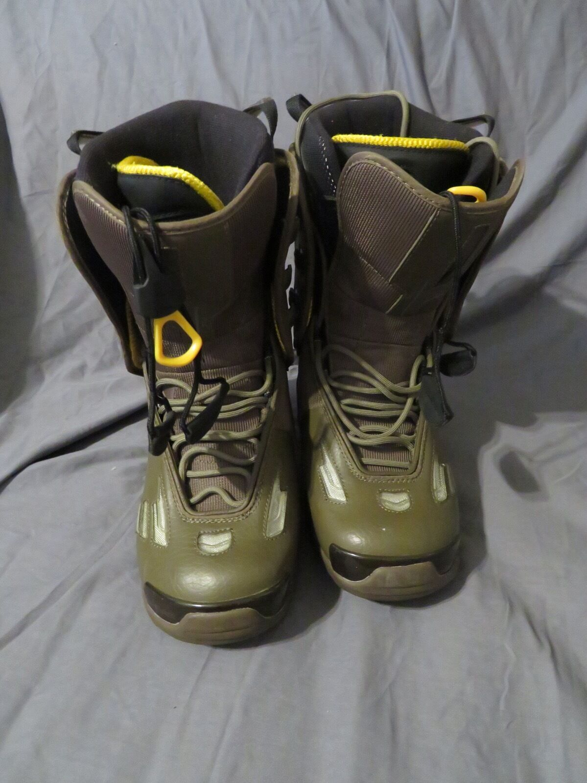 Women's Head 5.40 Snowboard Boots Hybrid Thermo-Fit Army Green Size 9.5 NICE
