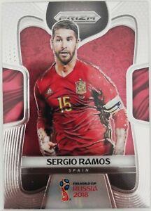2018 Panini Prizm World Cup Sergio Ramos #200