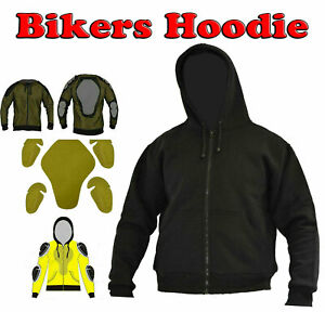 Motorcycle-Hoodie-Armour-Protective-Fleece-Reinforced-Made-With-DuPont-Kevlar