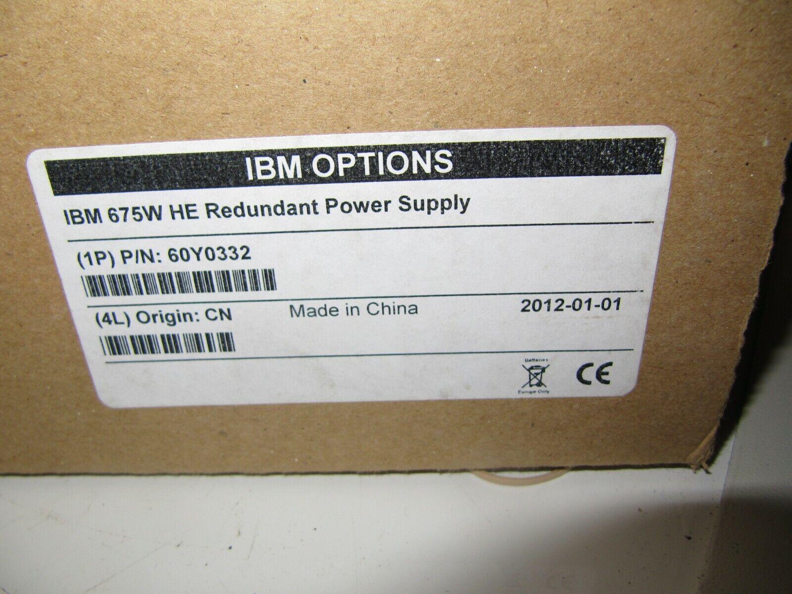 60Y0332 IBM 60Y0332 IBM High Efficiency 675W Power Supply IBM 675W HE Redundant Power Supply murah.