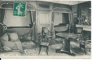 CPA-71-AUTUN-Chambre-historique-de-Napoleon-a-l-039-Hotel-Saint-Louis
