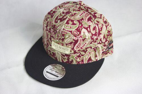 baseball mens Premium 7 panel paisley strap back hats ladies snapback caps,