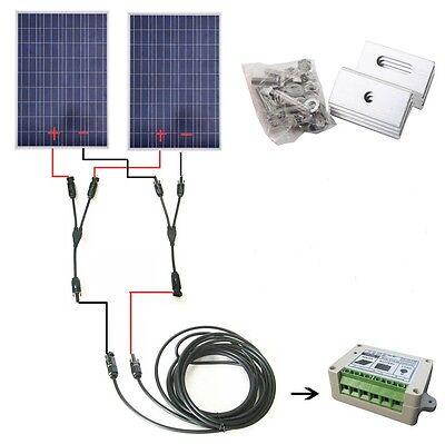 COMPLETE KIT:100W 200W 300W 400W 500W 600W Solar Panel Off grid system  ECO