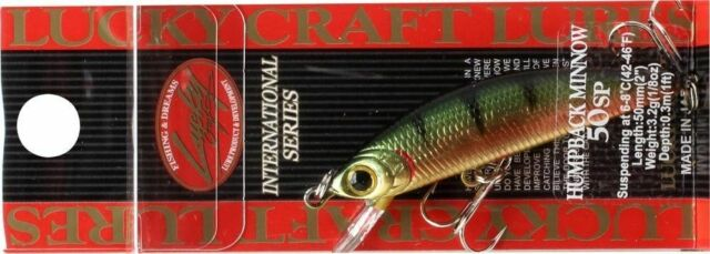 Choice Of Colors Lucky Craft Humpback Minnow 50 SP 5cm 3,2g Fishing Lures