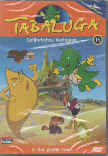1 von 1 - Tabaluga 15 Gefährliches Vertrauen & Der große Frost Kinder DVD NEU Europa