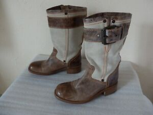 Free-lance-Boots-Biker-Size-38-Mint-Genuine