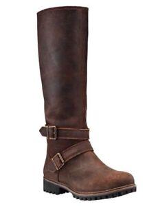 Timberland Women's Wheelwright Tall Buckle Waterproof Boots A15T3 Size:6.5