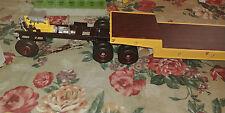 Built AMT model lowboy model trailer for semi truck