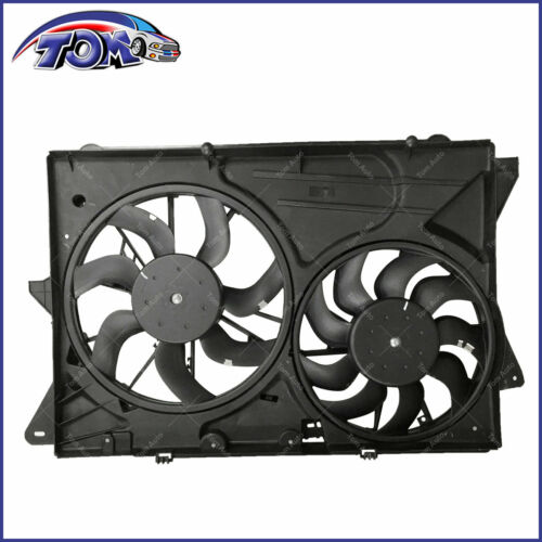 NEW RADIATOR AND CONDENSER FAN FOR FORD EXPLORER 2.0L LINCOLN MKT 2013-2015