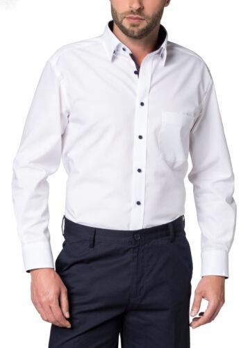 ,8501 X14X-68cm 68cm Modern Fit Herren Langarm Hemd mit langem Arm Eterna