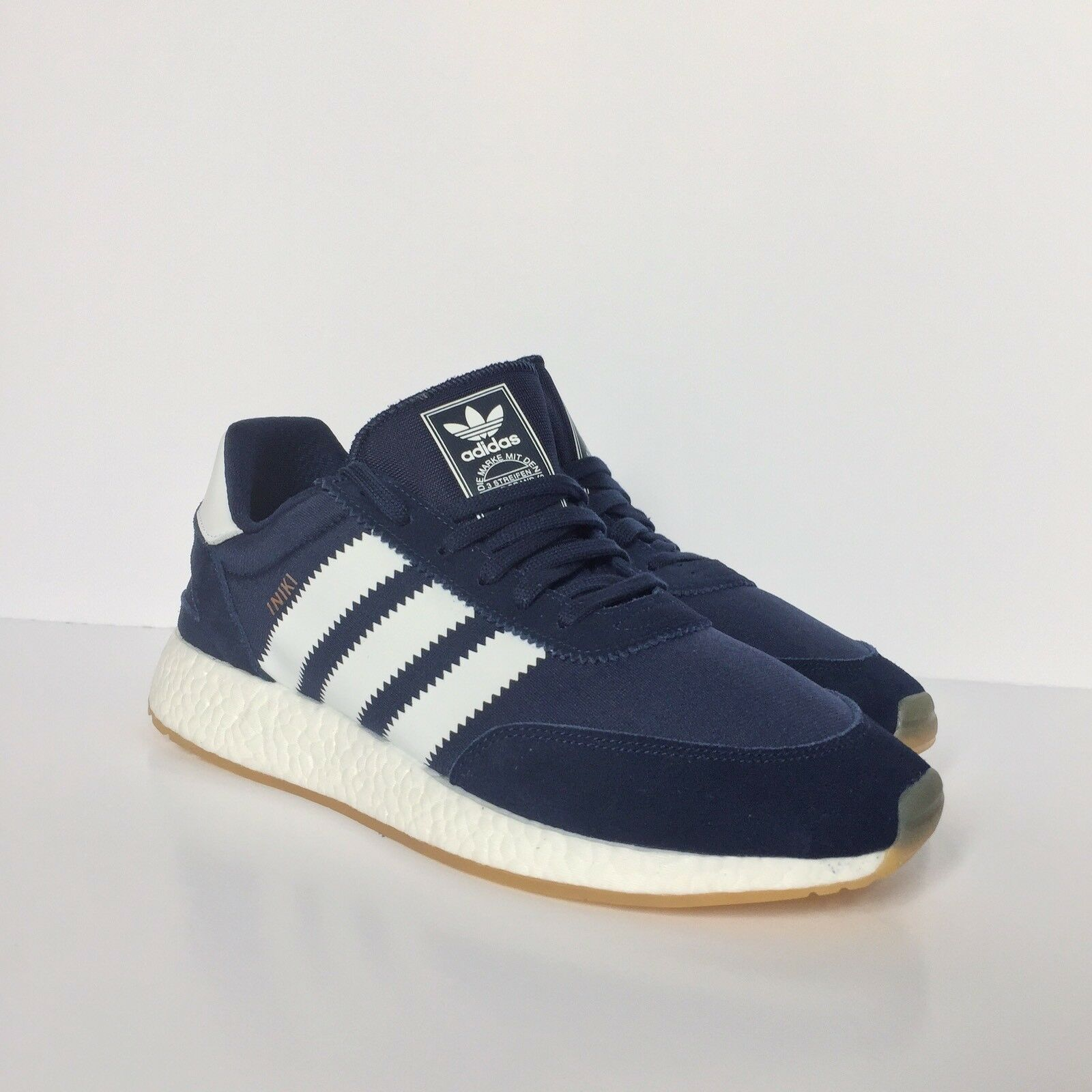 Adidas Iniki Runner Boost Sole Collegiate bluee  Size 11UK SNKRSUB.COM