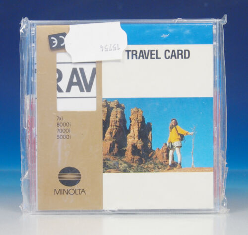 200542 Minolta Dynax 7xi 8o00i 7000i 5000i Travel Card Erweiterung Karte