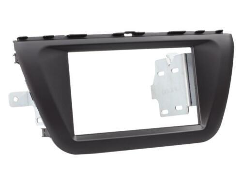 Radio Einbau Set 2 DIN Adapter für Suzuki SX4 S Cross JY ab 10//2013 schwarz
