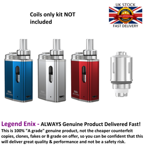 Details about Eleaf CS Heating Coil for Totally Wicked arc Pico Baby Kit -  Delivered Fast