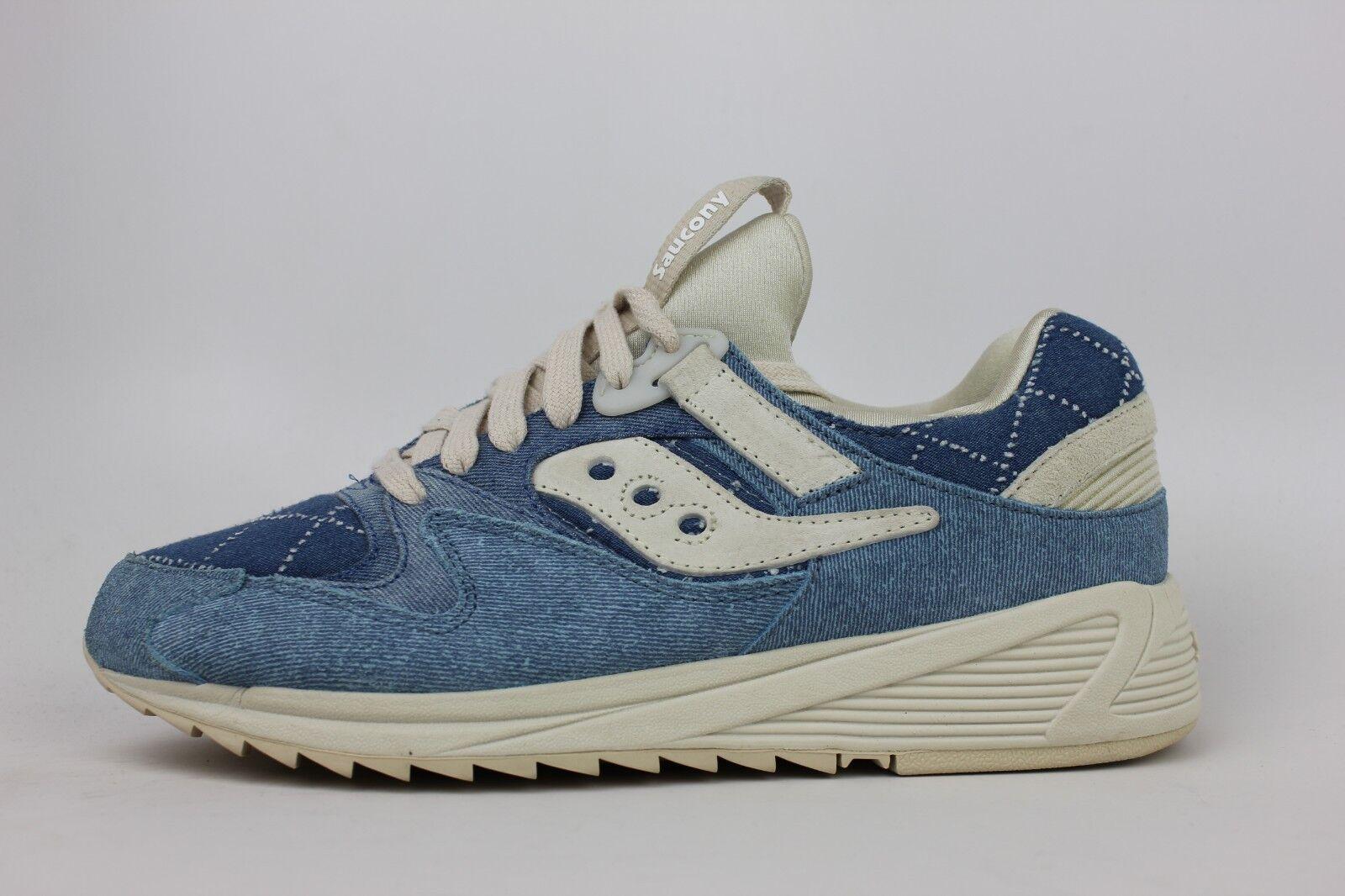 SAUCONYGRID 8500 BORO BLUE DENIM WHITE Uomo SIZE RUNNING SNEAKERS S70343-2