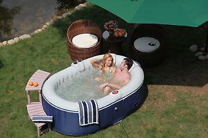 Oval-Shape-TheraPure-Spa-Portable-Aero-Inflatable-Hot-Tub-Bubble-Spa