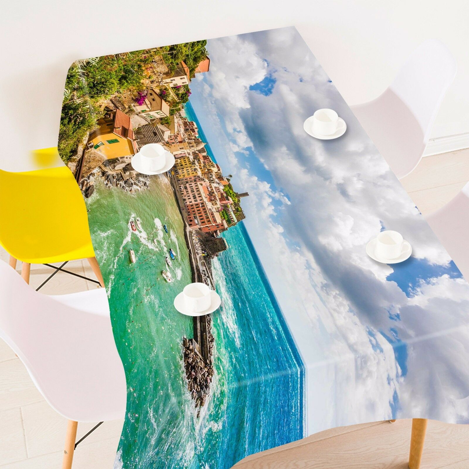 3D House sky87 Tablecloth Table Cover Cloth Birthday Party Event AJ WALLPAPER AU