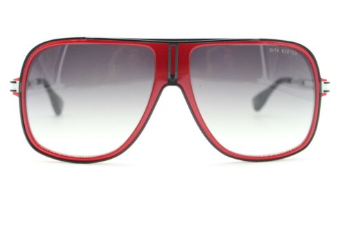NEW DITA EXETER DRX-2029E-59 RED AUTHENTIC SUNGLASSES FRAME 59-14