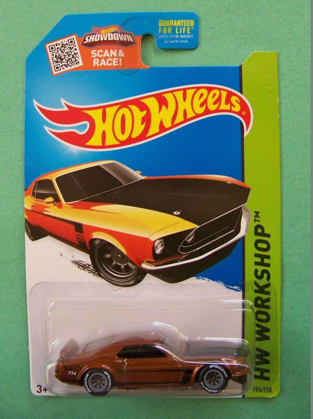 2015 Hot Wheels Super Treasure Hunt '69 '69 '69 Ford Mustang Boss 302 Choice Lot 2abdc2