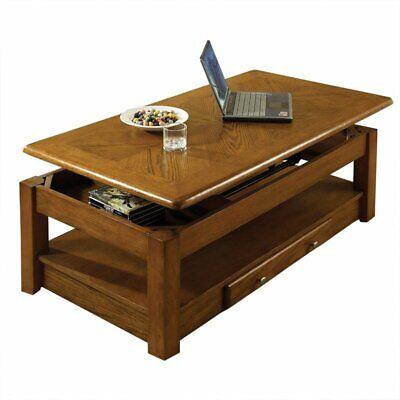 Steve Silver Nelson Lift Top Coffee Table In Oak Ebay