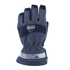 Veridian Fire Armor Structural Firefighting Glove Nfpa Gauntlet Black