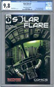 Solar Flare #1 Baltimore Comic Con Exclusive Variant  Scout Comics   CGC 9.8