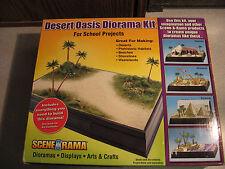 Woodland Scenics  Scene-A-Rama  Desert Oasis Diorama Kit  SP-4112 NIB