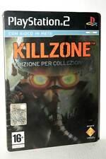 KILLZONE COLLECTOR'S EDITION STEEL BOOK USATO PS2 VERSIONE ITALIANA FR1 50097