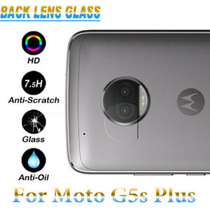 first rate 03e2e 28f42 Details about 7.5H Back Camera Lens Tempered Glass Protector Case For  Motorola Moto G5s Plus +