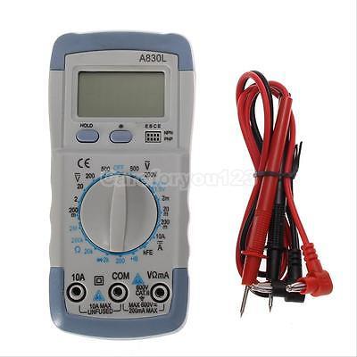 LCD Digital Voltmeter Ammeter Ohmmeter Multimeter OHM Volt AC DC Tester Meter