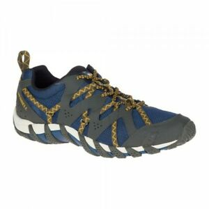Merrell-Waterpro-Maipo-2-Mens-Blue-Wing-Hiking-Trail-Waterproof-Shoes-J48615