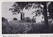1967  --  EGLISE RUSTIQUE DE VITRAC   3B749