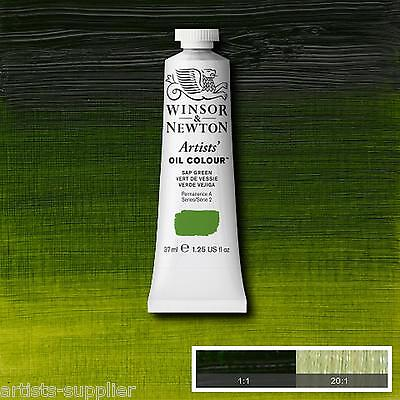 Series 2 Winsor & Newton Professional Artists Oil Paints 37ml Tubes Colours