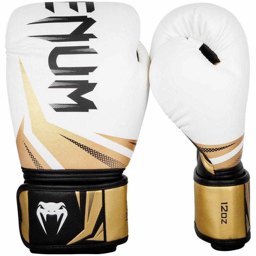 VENUM Boxhandschuhe, Challenger 3.0, weiß-Gold
