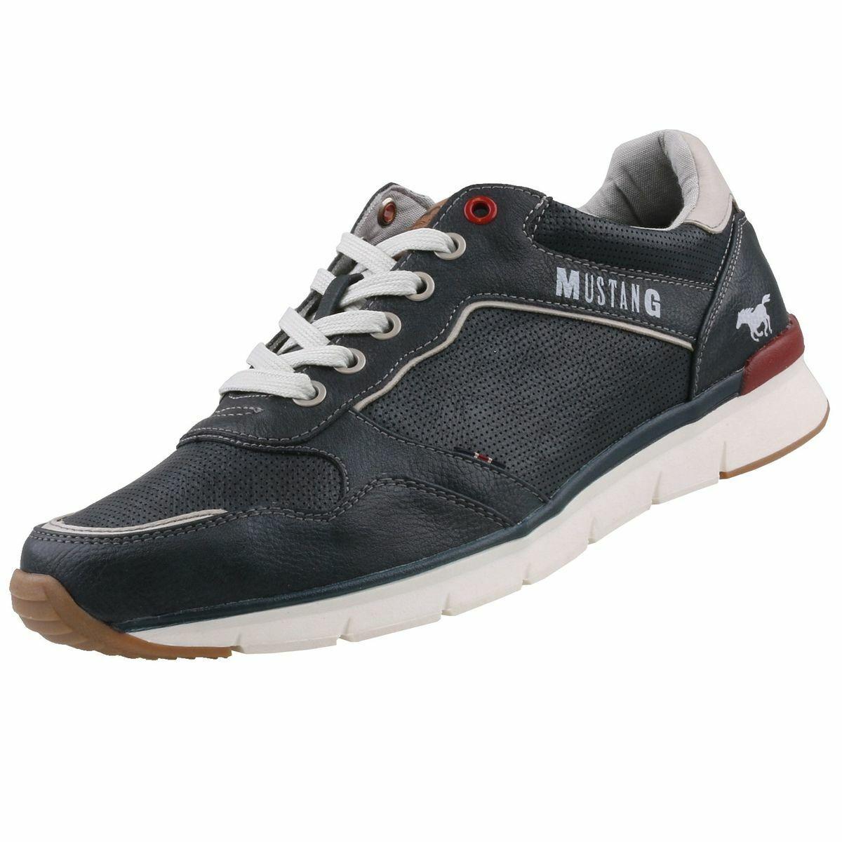 Neu MUSTANG Herrenschuhe Turnschuhe Halbschuhe Schnürschuhe FreizeitTurnschuhe Schuhe   | Einfach zu spielen, freies Leben