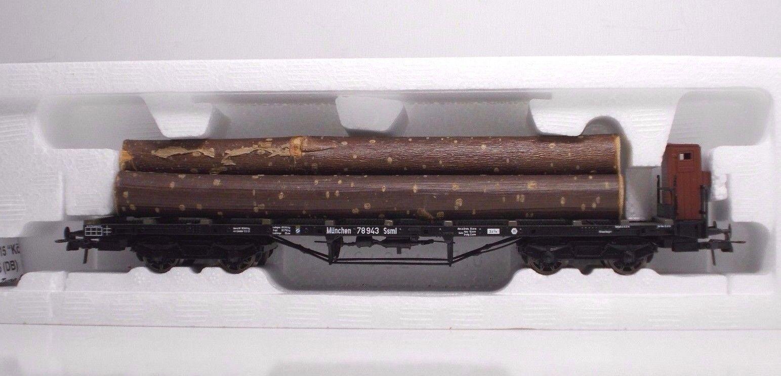ROCO 47193 Flachwagen SS  Koln mit Holz KPEV Ep I