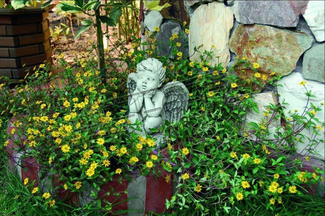 Tomba gioielli pietra tombale decorazione angelo personaggio scultura Dio sacro 24cm Decorazione 436