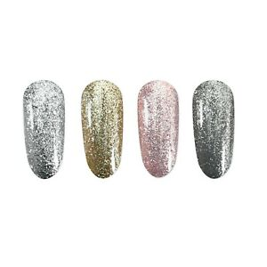 Platinum-Foil-Metallic-Gel-Polish-UV-LED-Nail-Art-Mirror-Glitter-Bling-Diamond