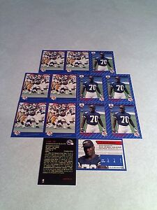 Harold-Hallman-Lot-of-21-cards-3-DIFFERENT-Football-CFL