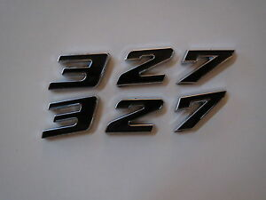 DODGE PLYMOUTH 426 ENGINE ID FENDER HOOD SCOOP QUARTER TRUNK EMBLEMS BLACK