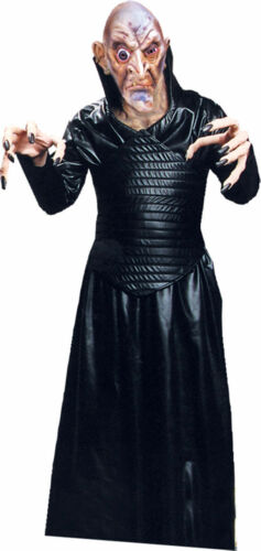 Morris Costumes Adult Unisex Like Leather Robe Black One Size AC271