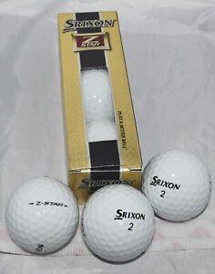SRIXON Z STAR 3 Golf Balls GREATER DISTANCE SUPERIOR SOFT FEEL NIB