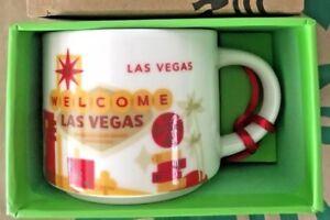 Starbucks-Demitasse-LAS-VEGAS-Nevada-YAH-You-Are-Here-Mini-mug-Ornament-2oz-NIB