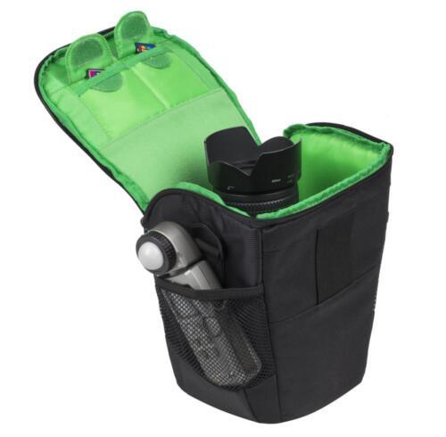 RivaCase Kamera Schutz Tasche Bag in Schwarz für Panasonic Lumix DMC-FZ2000