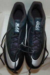 54d8fb6b6330 New Nike Men's VPR Fastflex Low Football Cleats Black/Yellow Size 12 ...