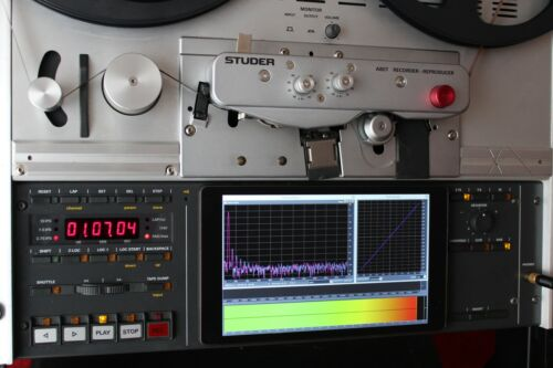 TEAC All-in-One Calibration Tape X-10 X-7 etc. X-1000 Messband 19cm//s X-2000