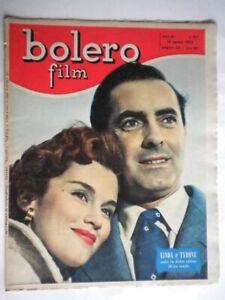 linda-christian-tyron-power-fotoromanzi-bolero-film-327-1953-rivista-illustrata