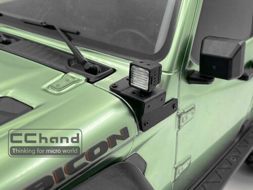 Headlight lens lamp cover for AXIAL SCX10 III upgrade part 1//10