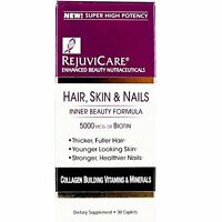 Rejuvicare Hair Skin & Nails Formula Caplets 30 Each on Sale
